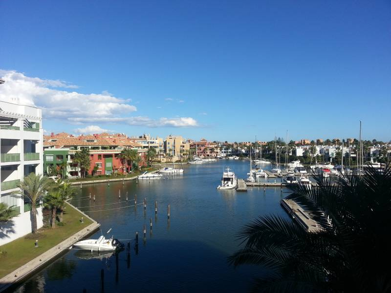 vistas desde apartamento en alquiler en sotogrande h15 International Realty