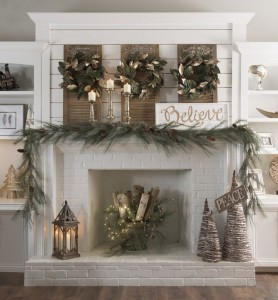 fireplace-decor-best-25-christmas-fireplace-decorations-ideas-on-pinterest