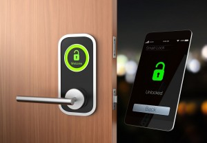 36146160 - smart lock concept. original design